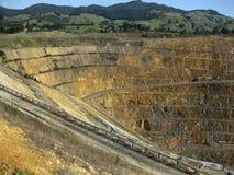 otwarty kopalnia złota srebro Zdjęcie Royalty Free