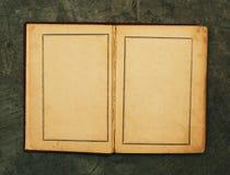 otwarty książka rocznik Fotografia Stock