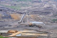 otwarty lany coalmining Zdjęcia Stock