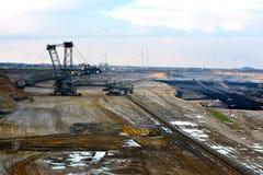 otwarty lany coalmining Zdjęcie Stock