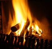 otwarty ogienia miejsce Fotografia Stock