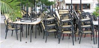 otwarty patio Zdjęcia Royalty Free