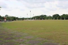 Otwarty teren w parku zdjęcie royalty free