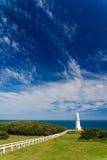 otway海角的灯塔 免版税库存图片