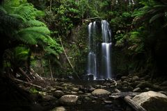 Otway waterfall Royalty Free Stock Photo
