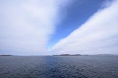 Otwierać chmury Obraz Stock