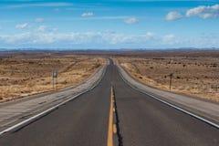 Otwiera autostradę w Nowym - Mexico Obrazy Royalty Free