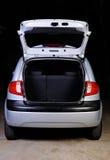 Otwiera bagażnika hatchback zdjęcie stock