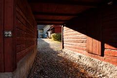 Otwiera bramę w idyllicznym Wadkoping Zdjęcie Royalty Free