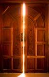 Otwiera drzwiowego światło Fotografia Stock