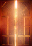 Otwiera drzwiowego światło Obraz Stock
