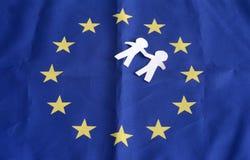 Otwiera granicy Forteczny Europa na Oct 2, 2015 Obrazy Stock