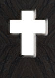 Otwiera krzyż Zdjęcie Stock