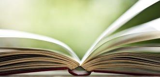 Otwiera książkę Zdjęcie Stock