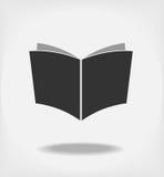 Otwiera książkę. obraz royalty free