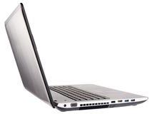 Otwiera laptopu tylni isometric widok Fotografia Royalty Free