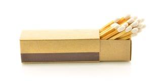 Otwiera matchbox Obrazy Stock