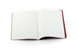 Otwiera notatnika Zdjęcie Stock