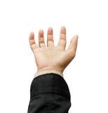 Otwiera palmy ręka zdjęcie stock
