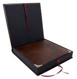 Otwiera prezenta pudełko Zdjęcia Stock