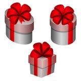 Otwiera prezenty zdjęcia royalty free
