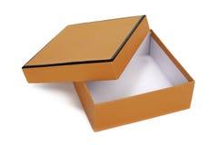 Otwiera pudełko Zdjęcie Royalty Free