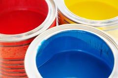 Otwiera puszki farby Obrazy Stock