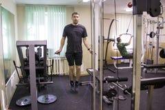 Otwiera sesi szkoleniowa przy klubu sportowego kiwi w Kirov mieście w 2 Zdjęcia Stock