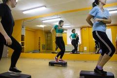 Otwiera sesi szkoleniowa przy klubu sportowego kiwi w Kirov mieście w 2 Fotografia Stock