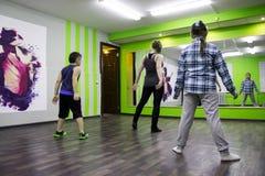 Otwiera sesi szkoleniowa przy klubu sportowego kiwi w Kirov mieście w 2 Zdjęcie Stock