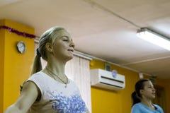 Otwiera sesi szkoleniowa przy klubu sportowego kiwi w Kirov mieście w 2 Obrazy Stock