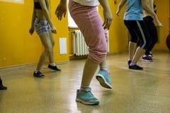 Otwiera sesi szkoleniowa przy klubu sportowego kiwi w Kirov mieście w 2 Obraz Stock