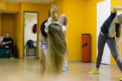 Otwiera sesi szkoleniowa przy klubu sportowego kiwi w Kirov mieście w 2 Obrazy Royalty Free