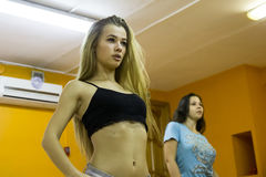 Otwiera sesi szkoleniowa przy klubu sportowego kiwi w Kirov mieście w 2 Obraz Royalty Free