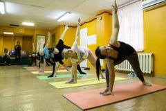 Otwiera sesi szkoleniowa przy klubu sportowego kiwi w Kirov mieście w 2 Zdjęcia Royalty Free