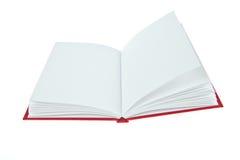 otwierająca pusta książka Zdjęcia Royalty Free