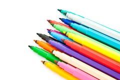 otwierający czerepów kolorowi diagonalni markiery Obrazy Royalty Free