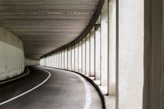 Otwieram popierał kogoś drogowego tunel Obraz Royalty Free
