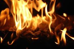 otworzyć ogień Fotografia Royalty Free