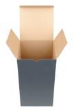 otworzyć pudełko Zdjęcia Royalty Free
