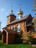 Oty östlig ortodox kyrka för KostomÅ ', Polen royaltyfri foto