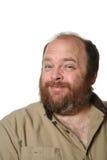 otyły mężczyzna starzejący się środek Obraz Royalty Free