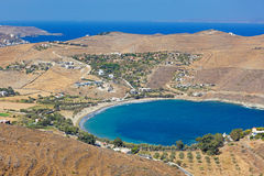 Otzias en Kea, Grecia Imagen de archivo libre de regalías