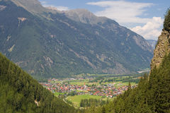 Otztal valley Stock Images