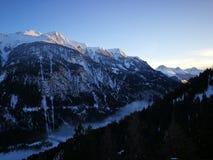 Otztaler Alpen, Tirol, Австрия Стоковая Фотография RF
