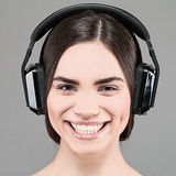 Ouça a música Imagens de Stock Royalty Free