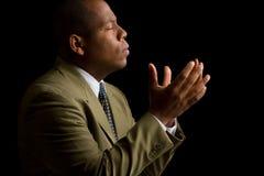Ouça-me senhor e responda-o a minha oração Fotos de Stock Royalty Free