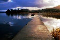 Ouïe de lac Images libres de droits