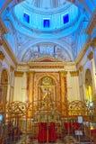 "Ou的做法的里面大城市Cathedral†""大教堂 免版税图库摄影"