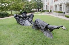 OU Campus Art stock images